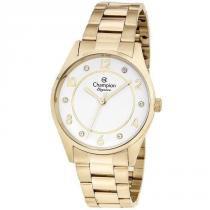 a6de33bee99 Relógio Champion Feminino Ref  Cn25690h Casual Dourado -