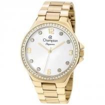cf4ad923491 Relógio Champion Feminino Ref  Cn25725h Casual Dourado -