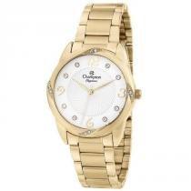 fea395a57d4 Relógio Champion Feminino Ref  Cn25734h Casual Dourado -