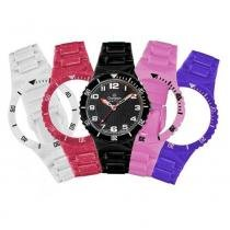 Relógio Champion Infantil Cp38086x Kit 5 Pulseiras Sortidas -