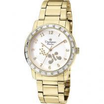 Relógio Champion Passion CN29356H Feminino - Social Analógico Pulseira de Aço Prova d?Água