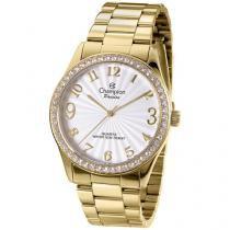 Relógio Champion Passion CN29472H Feminino - Social Analógico Pulseira Aço Prova d?Água
