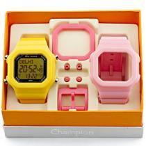 Relógio Champion YOT Troca Pulseiras - CP40180XK9 - Magnum