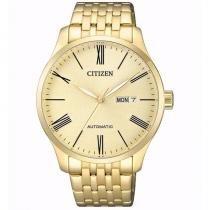 Relógio Citizen Masculino Ref  Tz20804g Automático Dourado - ae3149bb3a