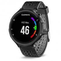 Relógio com Monitor Cardíaco Embutido Garmin Forerunner 235 Preto com Bluetooth e GPS -