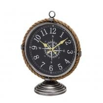 1db3489799e Relógio de Mesa Bússola com Detalhe em Corda Mundi 35 cm - Espressione