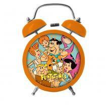 Relógio de Mesa Despertador - Hanna-Barbera - Flintstones - Toda a Família - Metrópole -