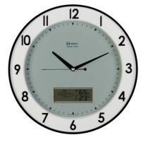 a6f1a8d1b17 Relógio De Parede Analógico - Digital Herweg Ref  6805-034 -