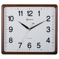 2170db3c311 Relógio de parede analógico moderno estilo madeira mecanismo sweep herweg  ipê -