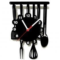 Relógio de Parede Decorativo Cozinha - ME Criative