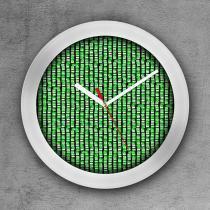 Relógio de parede decorativo, criativo e descolado  Montagem Memorial da América Latina - COLOURS  Creative Photo Decor