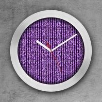 Relógio de parede decorativo, criativo e descolado  Montagem Tijolos - COLOURS  Creative Photo Decor