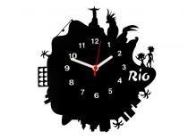 Relógio de Parede Decorativo - Modelo Cidade Maravilhosa - Me criative