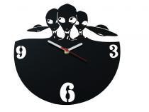 Relógio de Parede Decorativo - Modelo Extraterrestres - Me criative