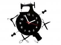 Relógio de Parede Decorativo - Modelo Mundo da Costureira - Me criative