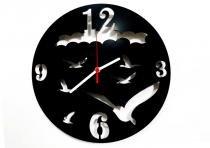 Relógio de Parede Decorativo - Modelo Pássaros - Me criative
