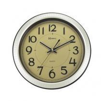 Relógio de Parede Herweg Redondo 6435 - Champanhe Claro Metálico -