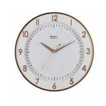 fbe13c861bd Relógio de Parede Herweg Redondo 6806 - Rosé -