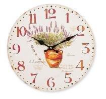 Relógio de parede Vase 34cm MDF Hauskraft -
