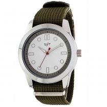 Relógio de pulso casual zoot analanalógico tucson - verde/branco