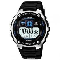 Relógio de Pulso Masculino Esportivo Digital - Cronômetro Casio AE 2000W 1AV