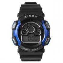 Relógio De Pulso Resistente A Água Hora Digital Rk01 Kikos - Kikos
