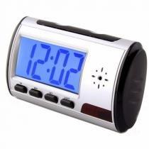 Relógio despetador digital espião com sensor de movimento e controle remoto - Xdgtl
