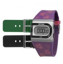 Relógio Digital Feminino Mormaii 3 Pulseiras Digital fzac/8k - Timex