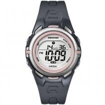 Relógio Digital Marathon By Timex femenino Resistente à Água t5k36wkl/tn -
