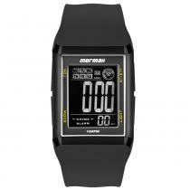 Relógio Digital Mormaii Wave MO18008Y PRETO -