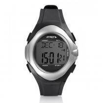 Relógio Esportivo Atrio Touch Sensor Monitor Cardíaco Preto ES094 -
