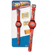 Relógio Esportivo Vermelho Hot Wheels - Fun Divirta-Se -