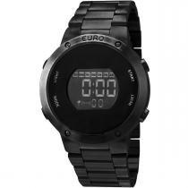 Relógio Euro Digital Feminino EUBJ3279AB/4P -