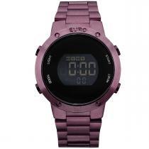 Relógio Euro Digital Feminino Roxo EUBJ3279AD/4T -