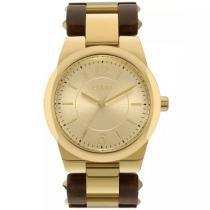 Relógio Euro Feminino Eu2035ylx/4d Acetato Bicolor -