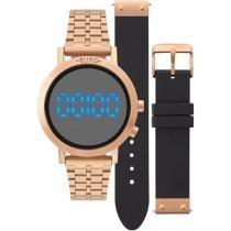 d44c907a3e Relógio Euro Feminino Fashion Fit EUBJ3407AC T4P + Pulseira -