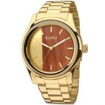 Relógio Euro Feminino Madeira Fashion Eu2036maa/4d -