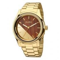 Relógio Euro Feminino Madeira Fashion EU2036MAA/4M -