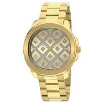 Relógio Euro Feminino New Glitz Dourado Eu2036lzm/4d -