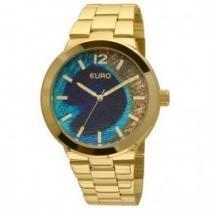 Relógio Euro Peacock Dourado - Eu2036lzu/4a -