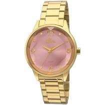 Relógio Feminino Allora Analógico - Estampas e Texturas AL2035FKO/K4 com Bijouteria