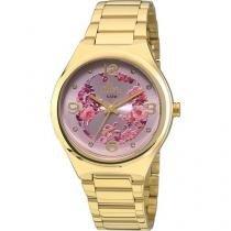 Relógio Feminino Allora Analógico Fashion Al2035faf/4t -
