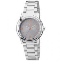 Relógio Feminino Allora Simples Encontro - AL2115AF/3K Analógico Resistente à Água
