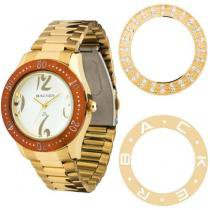 Relógio Feminino Backer Analógico - Resistente a Água Troca Aros 3307145F