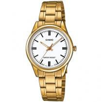 Relógio Feminino Casio Analógico - Resistente à Água Collection LTPV005G7AUDF
