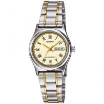 Relógio Feminino Casio Analógico - Resistente à Água Collection LTPV006SG9BUDF