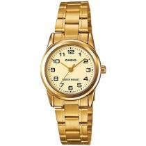 Relógio Feminino Casio Analógico - Resistente à Água LTPV001G9BUDF