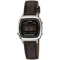 Relógio Feminino Casio Digital - Resistente à Água LA670WL-1BDF