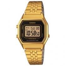 Relógio Feminino Casio Digital - Resistente a Água LA680WGA-1DF