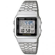 Relógio Feminino Casio Vintage A500WA-1DF - Digital Resitente à Água com Data